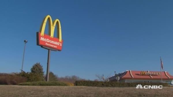 McDonald's reorganizing into 4 segments