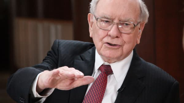 Warren Buffett, chairman of Berkshire Hathaway Inc.