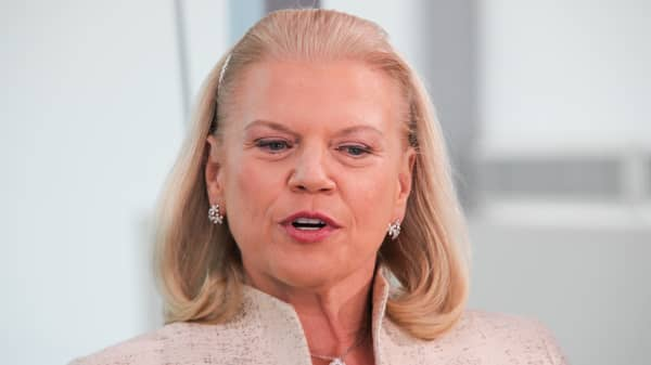Ginni Rometty, chair and CEO of IBM.