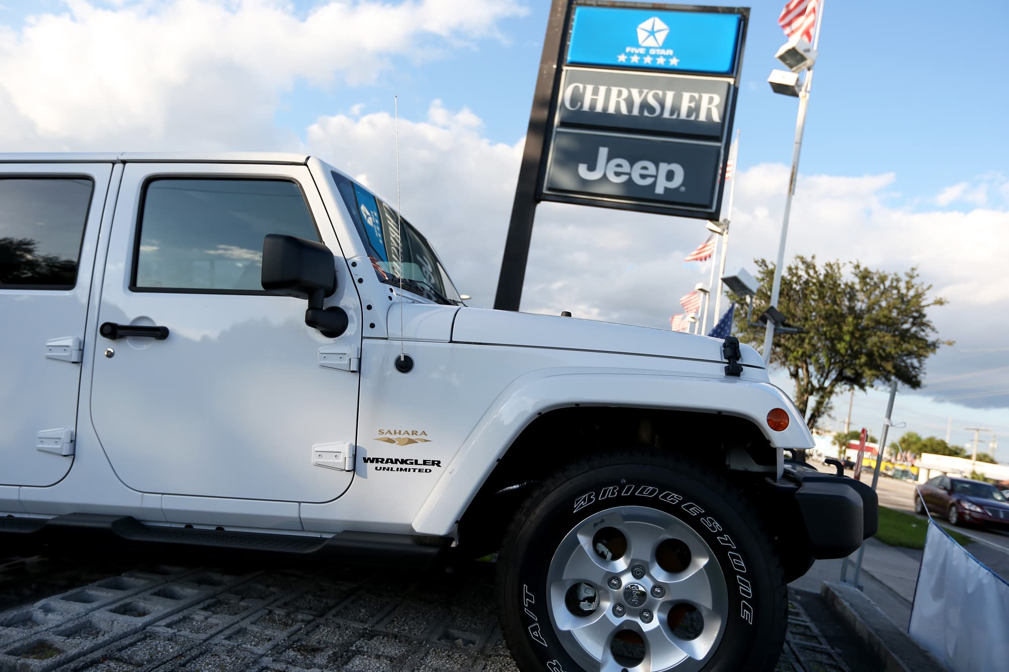 Jeep is worth more than fiat chrysler says morgan stanley biocorpaavc