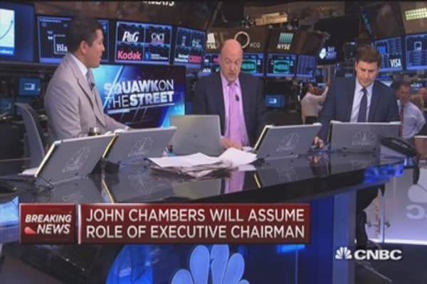 Cramer: Cisco transition will be smooth