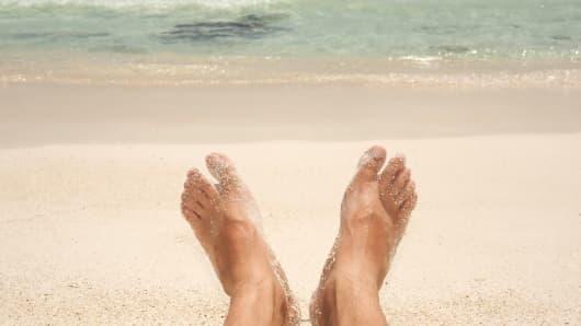 Beach scene