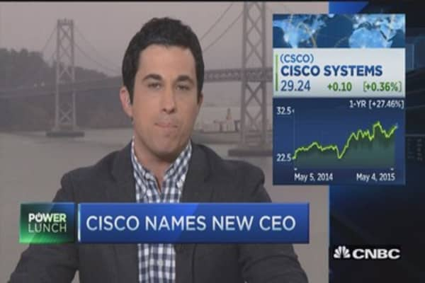 Cisco names new CEO