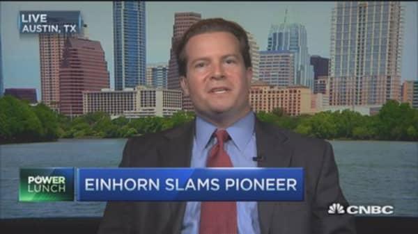 Einhorn slams Pioneer, valid points: Pro