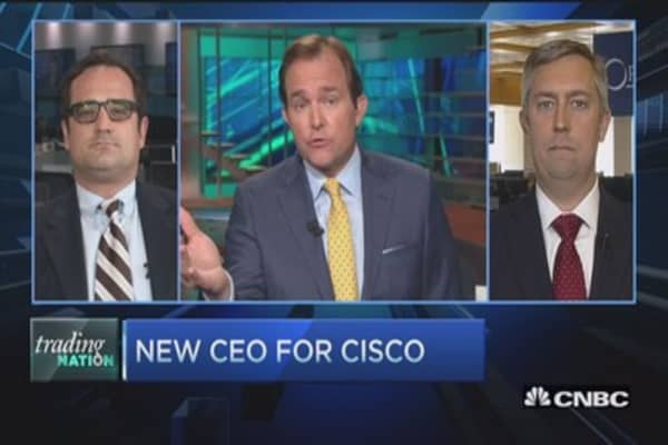 Trading Nation: New CEO for Cisco