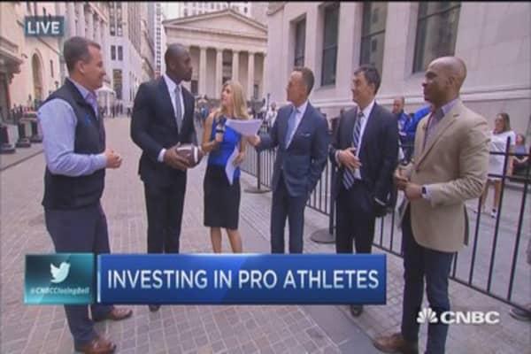Investing in athletes through Fantex