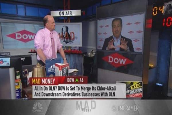 Why Cramer is a fan of DOW