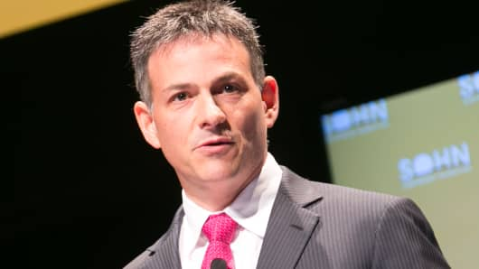 David Einhorn, founder of Greenlight Capital.