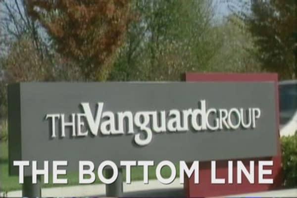 Vanguard is living large