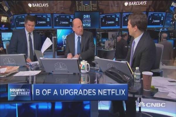 Cramer: Netflix upgrade incredible reversal