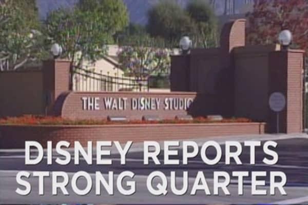 Disney's positive earnings streak continues
