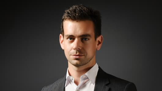 Jack Dorsey, co-founder and CEO of Square.