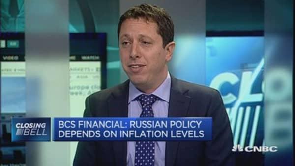 Balancing Russia's economy