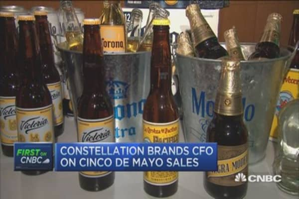 Cinco de Mayo kicks things off for Constellation Brands