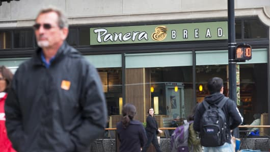 A Panera Bread location in Chicago