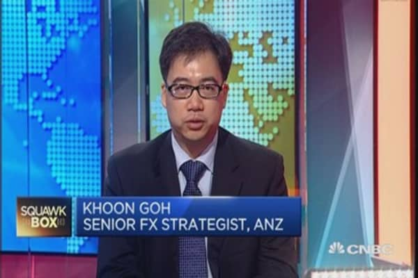 Sell Aussie dollar at 80 US cents: ANZ