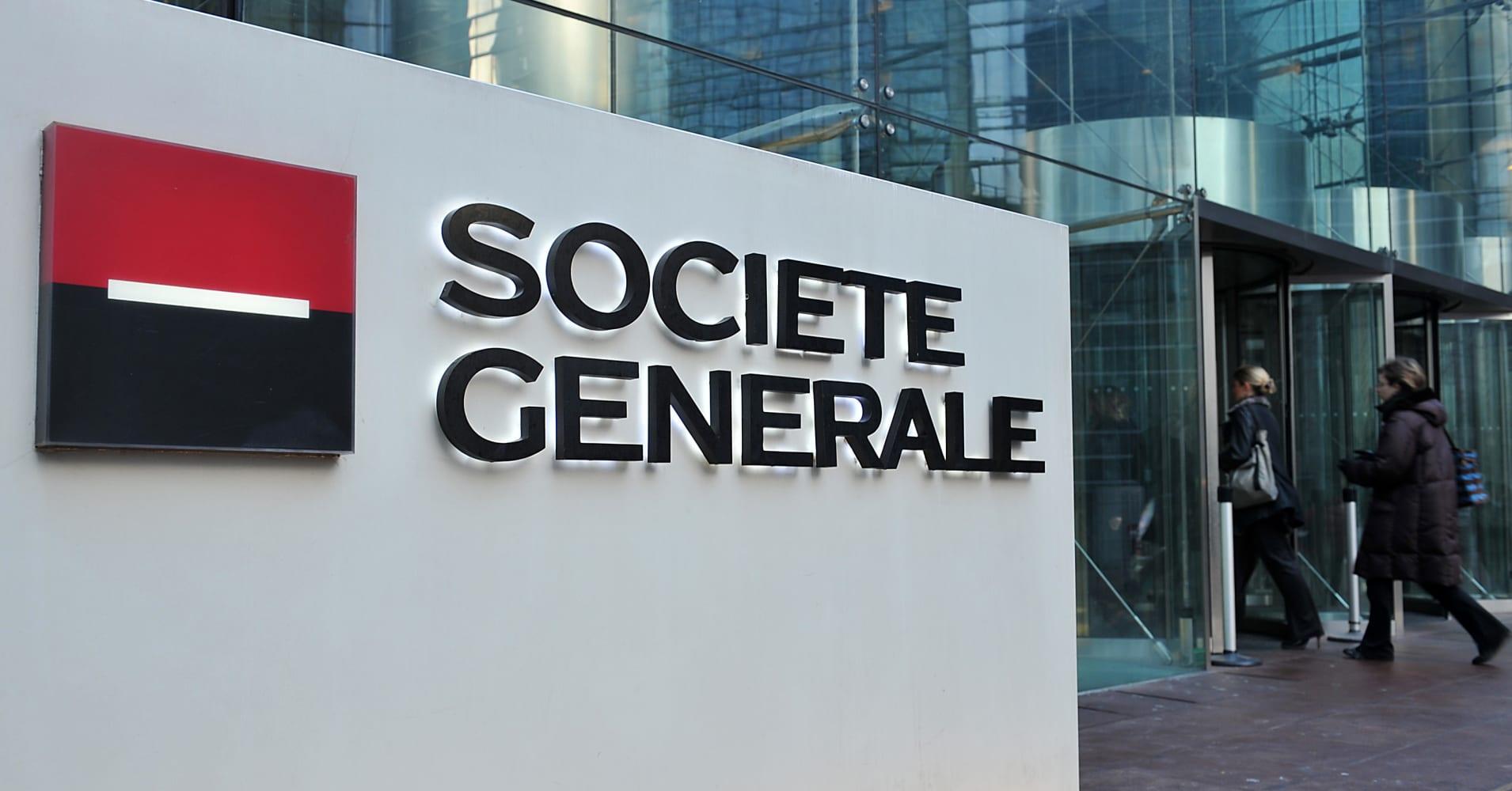 Societe Generale profits beat estimates as rebound in global markets drives growth