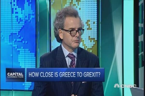 How close is Greece to leaving the euro zone?