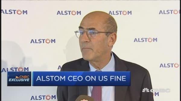 Alstom CEO on US fine