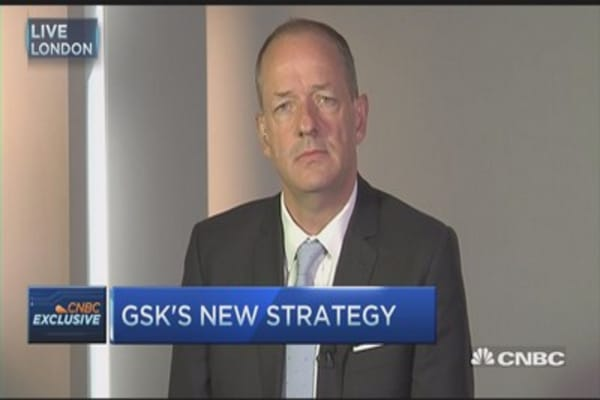 GSK CEO:  Our 3 key areas of strength