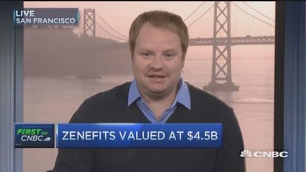 Zenefits raises $500 million