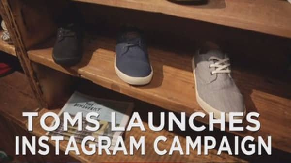 Toms launches instagram challenge