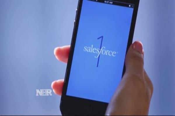 Microsoft eyeing Salesforce?