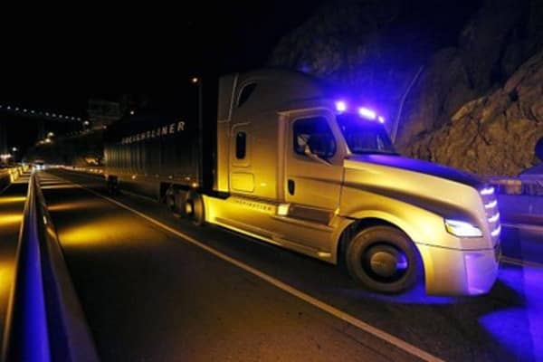 Self-driving trucks hit the road