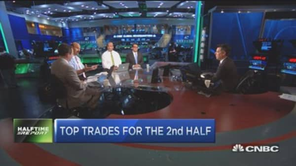 Top trades for the 2nd half: BP, XLE, & more