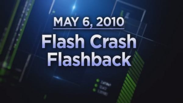 The 'flash crash' of 2010 in 90 seconds