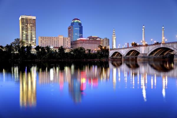 Springfield, Massachusetts skyline