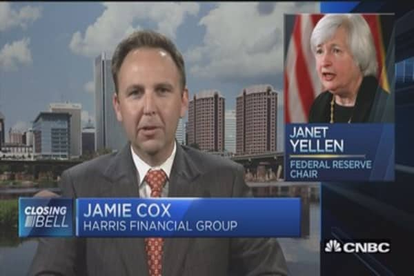 Janet Yellen said what?