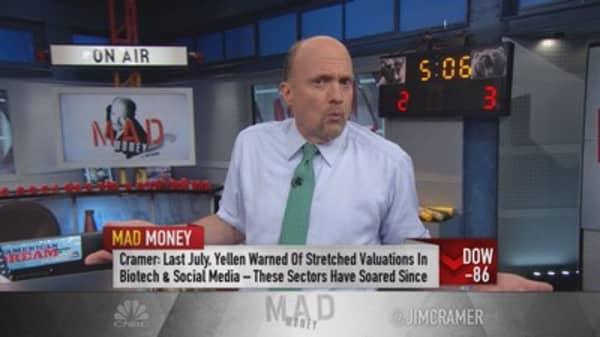 Cramer: Thanks for nothing Janet Yellen