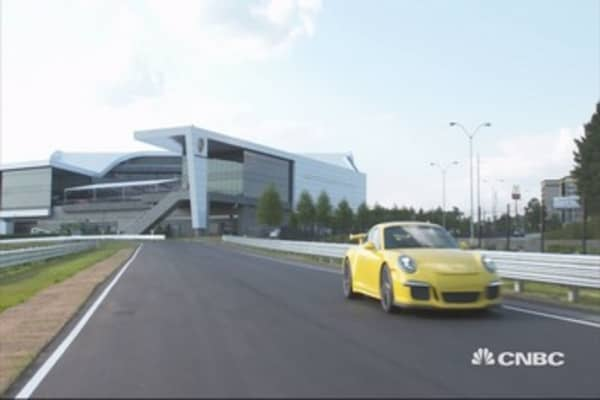 Check out Porsche's new test track: CEO