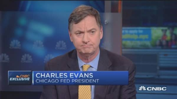 Looking for better Q2: Fed's Charles Evans