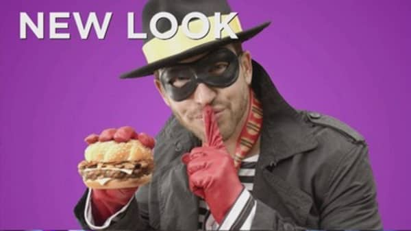 McDonald's Hamburglar is back