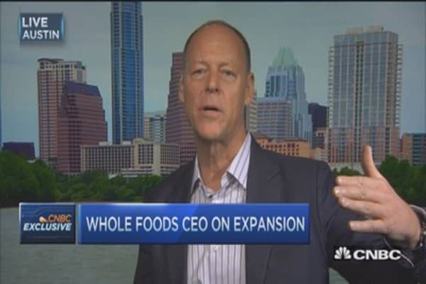You'll be excited for what we're revealing: Whole Foods CEO