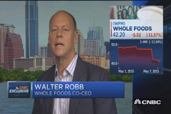 Whole Foods is evolving: WFM CEO