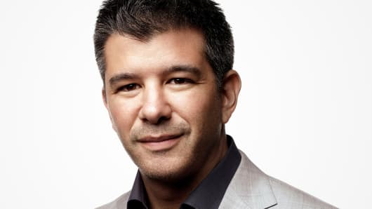 Travis Kalanick, founder and CEO of Uber