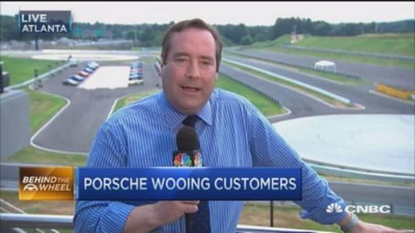Porsche's standout headquarters
