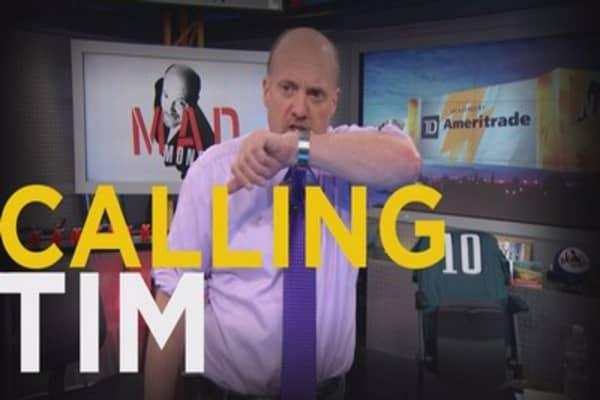 Cramer makes history in the Lightning Round  sc 1 st  CNBC.com & Cramer Remix: History made in the Lightning Round azcodes.com
