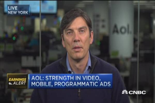 AOL CEO: Excited about Comcast deal