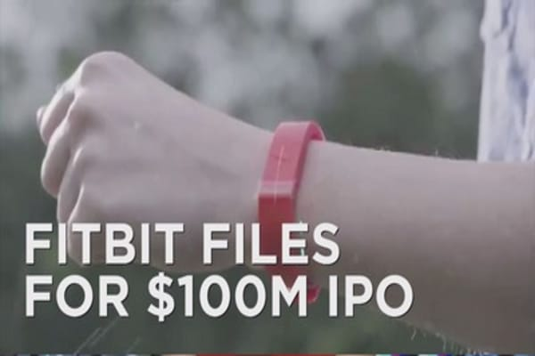 Fitbit files for IPO