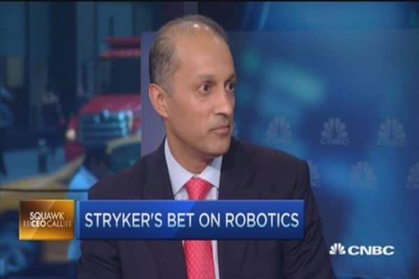 Stryker CEO: Robotics real 'game changer'