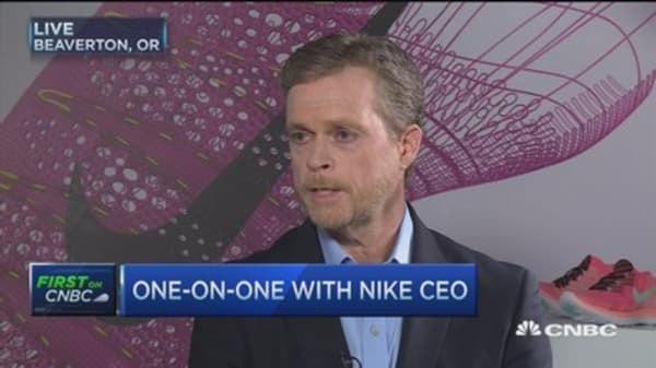 TPP will support innovation for Nike: Nike CEO