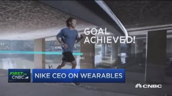 More from Apple & Nike to come: Nike CEO
