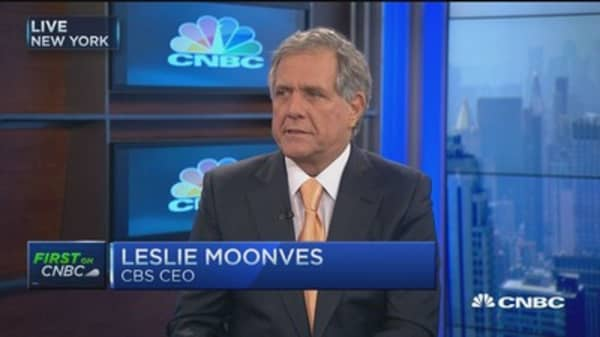 Broadcast, only safe bet out there: CBS CEO