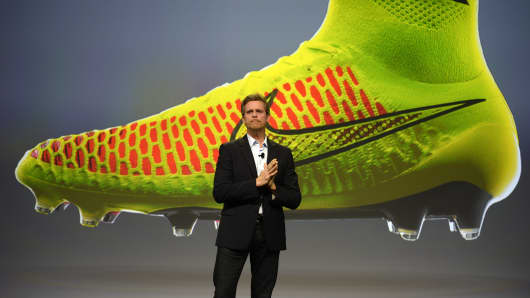 Chief Executive Officer and president of Nike Mark Parker.