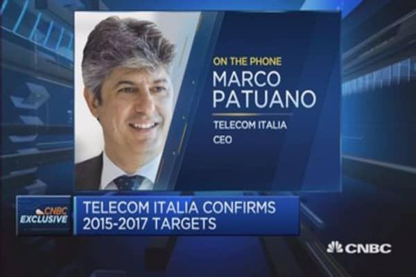 Telecom Italia posts Q1 results: CEO