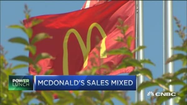 One bright spot for McDonald's